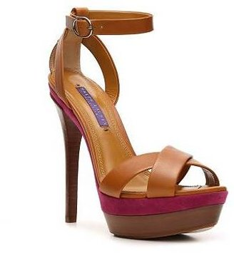 Ralph Lauren Joelle Leather Sandal