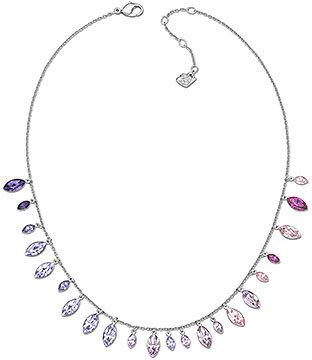 Swarovski Tody Thin Multi Purple Necklace