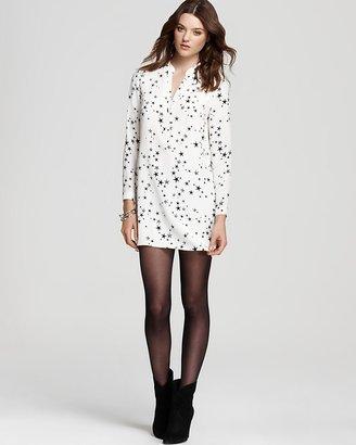 Tibi Tunic Dress - Starfish Printed
