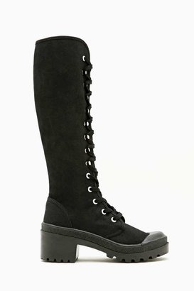 Nasty Gal Antwerp Knee High Boot