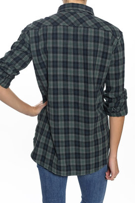 Elizabeth and James TEXTILE Kurt Flannel Green