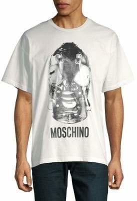 Moschino Bondage Mask Cotton Tee