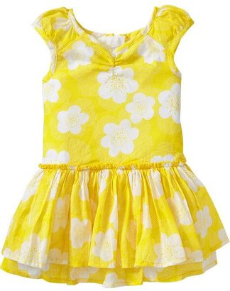 Old Navy Ruffled Cap-Sleeve Dresses for Baby