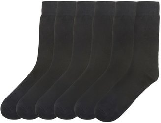 La Redoute Collections Pack of 6 Pairs of Plain Socks