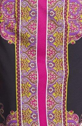 Adrianna Papell Scarf Print Sheath Dress