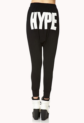 Forever 21 Statement-Making Hype Harem Pants