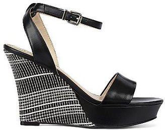 Liz Claiborne Anya Ankle-Strap Wedge Sandals