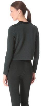 Alexander Wang Wool Suede Pullover