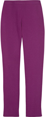 Acne Best Lux cropped wool-crepe pants