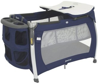 Joovy Room Playard with Bassinet & Changing Table - Blueberry