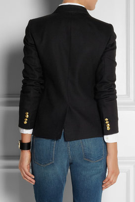 J.Crew New Schoolboy brushed stretch-wool twill blazer