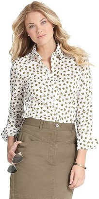Brooks Brothers Clover Print Blouse