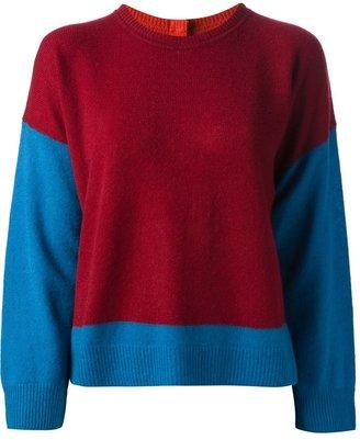 Tsumori Chisato colour block sweater