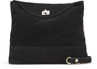 MANGO TOUCH - Suede shoulder bag