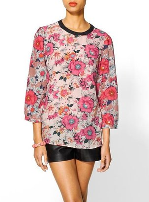 Finders Keepers Tinley Road Floral Print Blouse