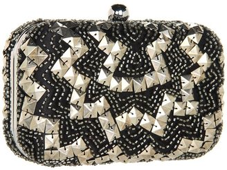 Juicy Couture Beaded Minaudiere (Black) - Bags and Luggage