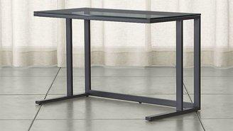 Crate & Barrel Pilsen Graphite Desk