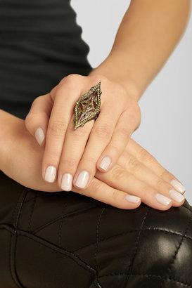 Loree Rodkin 18-karat rhodium white gold diamond ring