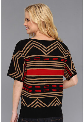 Pendleton The Portland Collection by Zigzag Stripe Merino Top