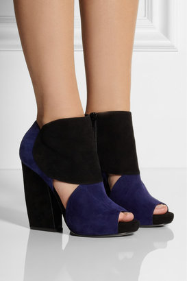 Pierre Hardy Two-tone suede ankle boots