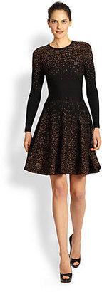 Rachel Roy Knit Dot Dress