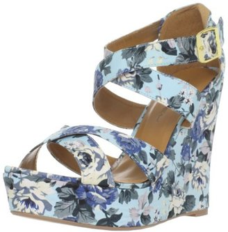 C Label Women's Heart-35 Wedge Sandal