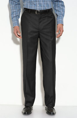 Men's Linea Naturale 'Travel Genius - Hawk' Flat Front Pants $99.50 thestylecure.com