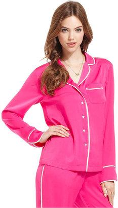 Rachel Roy Top, Long-Sleeve V-Neck Pajama Shirt