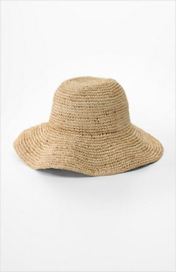 J. Jill Large-brimmed straw hat