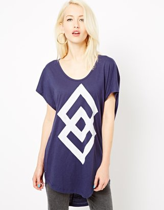 Illustrated People Double Diamond Sarah T-Shirt