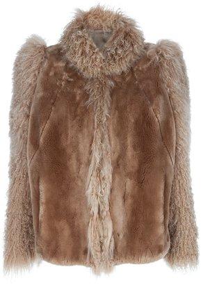 Italian Tailored Vintage Vintage fur jacket