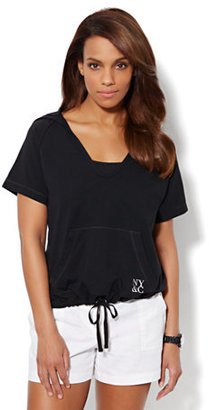 New York & Co. Love, NY&C Collection - Hooded Pullover