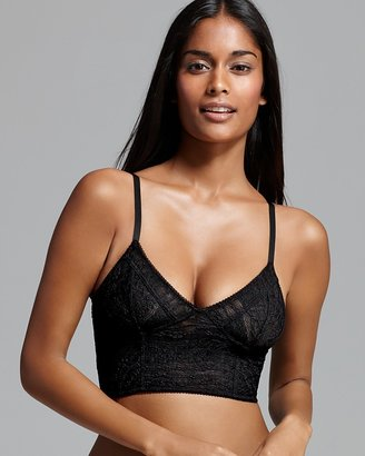 Free People Bra - Lace Cropped Bustier $38 thestylecure.com