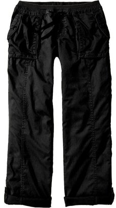 Old Navy Women's Ribbed-Waist Roll-Up Pants