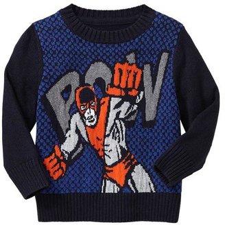 Gap Superhero graphic sweater