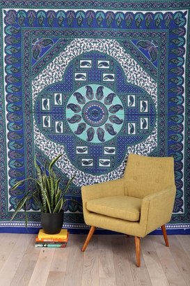 UO Paisley Border Tapestry