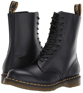 Dr. Martens 1490 (Black Smooth) Lace-up Boots