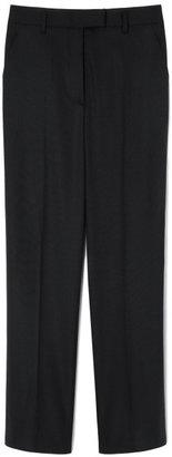 Jason Wu Preorder Cropped Lightweight Wool Gab Pant