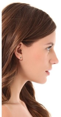Black Diamond blanca monros gomez Rosette Stud Earrings