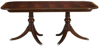 Ethan Allen Abbott double pedestal table