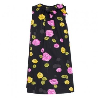Milly Minis Floral Print Woven Dress