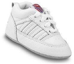 K-Swiss Kids' Crib 5 Stripe Sneaker Baby