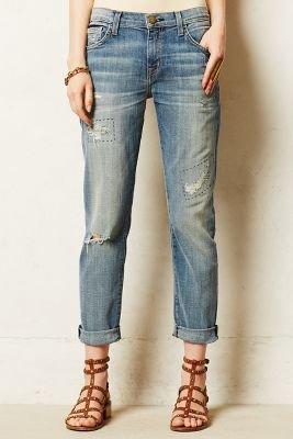 Current/Elliott Fling Boyfriend Jeans Buckeye Repair 26 Denim