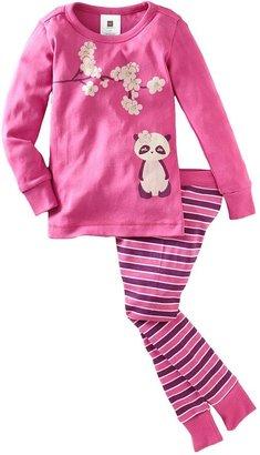 Tea Collection Panda Pajamas - Flambe-6-12 Months