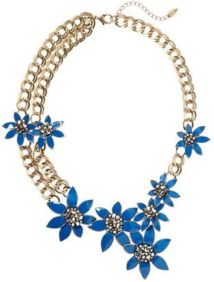 Coldwater Creek Deco garland necklace