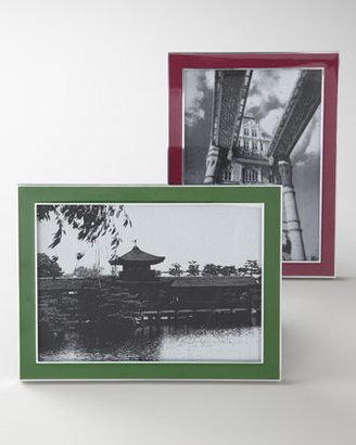 Enameled Frame, Box, & Mirror