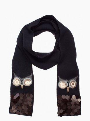 Kate Spade Night owl scarf