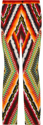 Peter Pilotto Eli printed stretch-crepe skinny pants