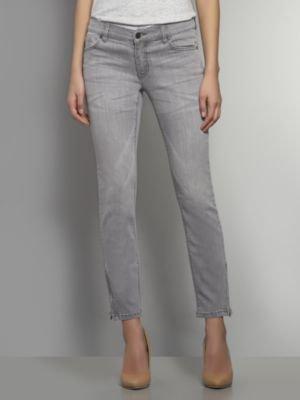 New York & Co. Denim Ankle-Zip Legging - Grey Wash
