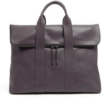 3.1 Phillip Lim Natural Polished Leather Hour Bag